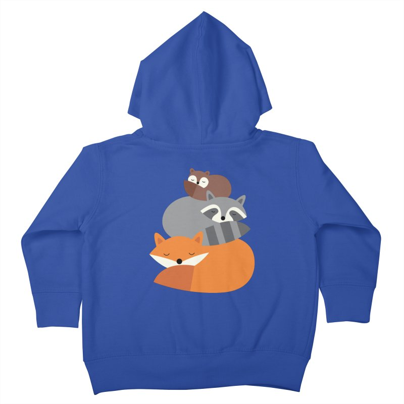 Dream Together Kids Toddler Zip-Up Hoody by andywestface's Artist Shop