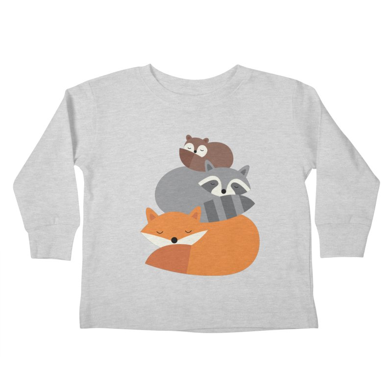 Dream Together Kids Toddler Longsleeve T-Shirt by andywestface's Artist Shop