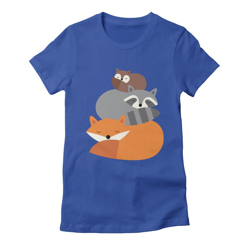 Dream Together Women's Fitted T-Shirt by andywestface's Artist Shop