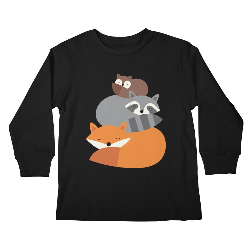 Dream Together Kids Longsleeve T-Shirt by andywestface's Artist Shop