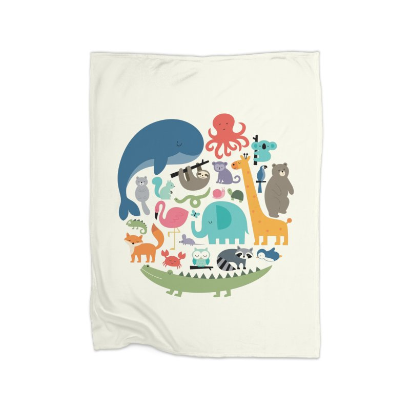 We Are One Home Blanket by andywestface's Artist Shop