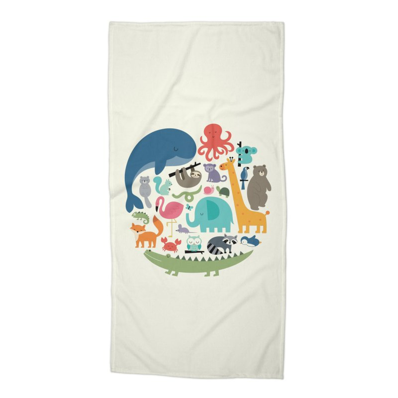 We Are One Accessories Beach Towel by andywestface's Artist Shop