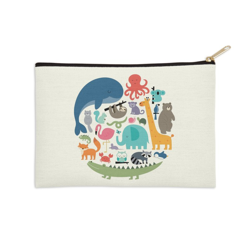 We Are One Accessories Zip Pouch by andywestface's Artist Shop