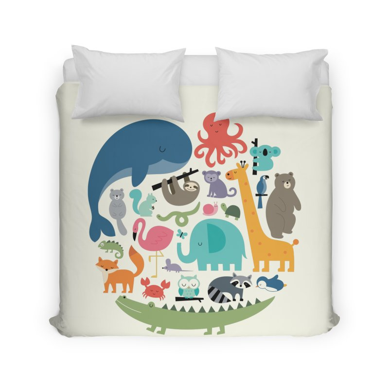 We Are One Home Duvet by andywestface's Artist Shop