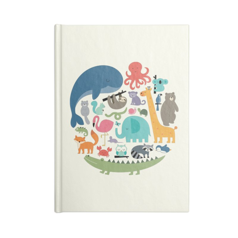We Are One Accessories Lined Journal Notebook by andywestface's Artist Shop