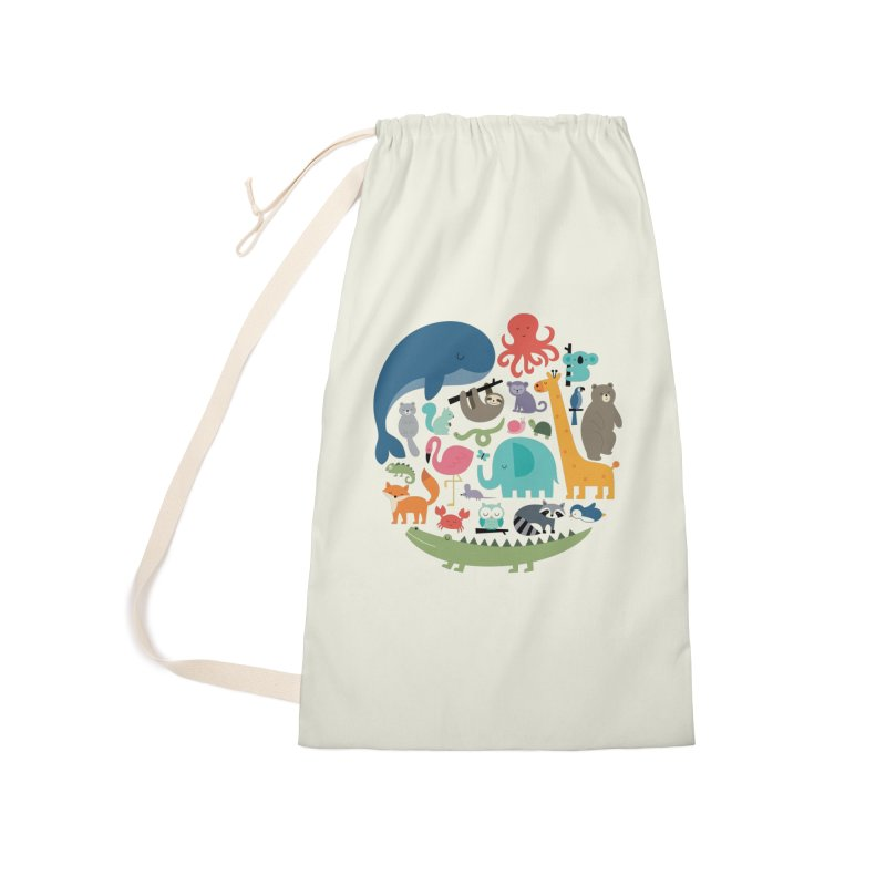 We Are One Accessories Laundry Bag Bag by andywestface's Artist Shop