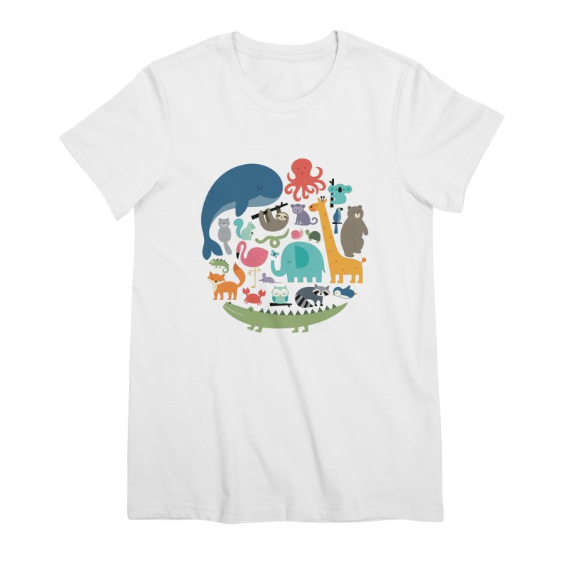 We Are One Women's Premium T-Shirt by andywestface's Artist Shop