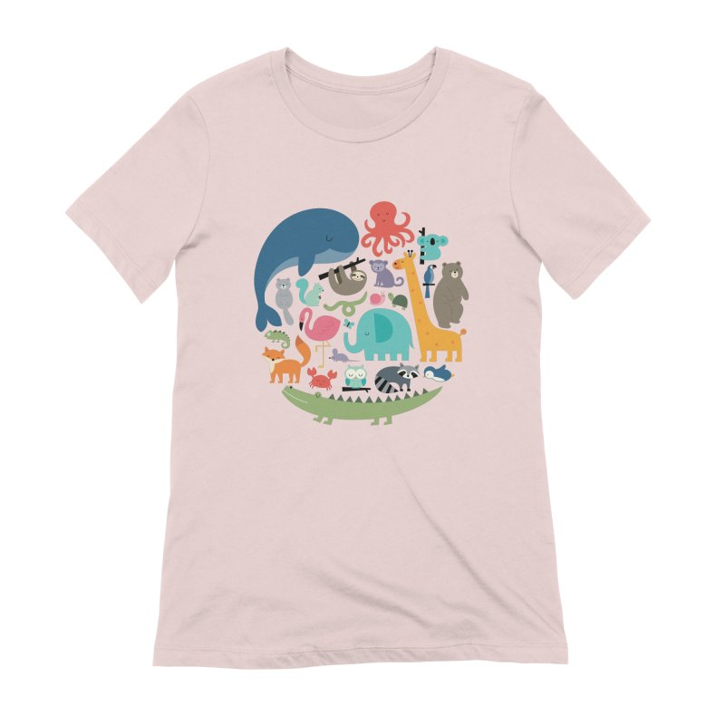 We Are One Women's Extra Soft T-Shirt by andywestface's Artist Shop