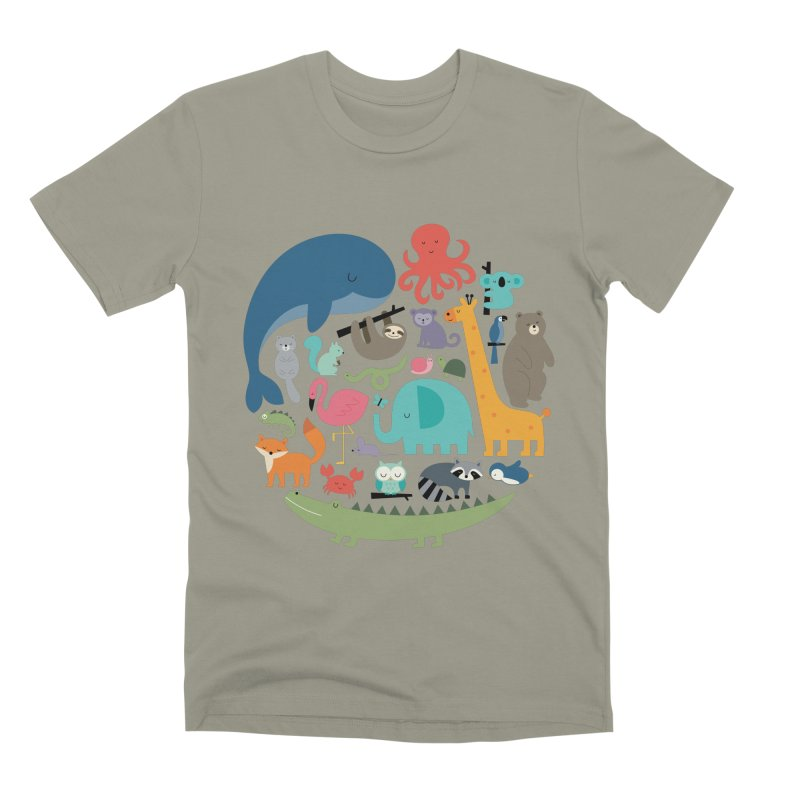 We Are One Men's Premium T-Shirt by andywestface's Artist Shop