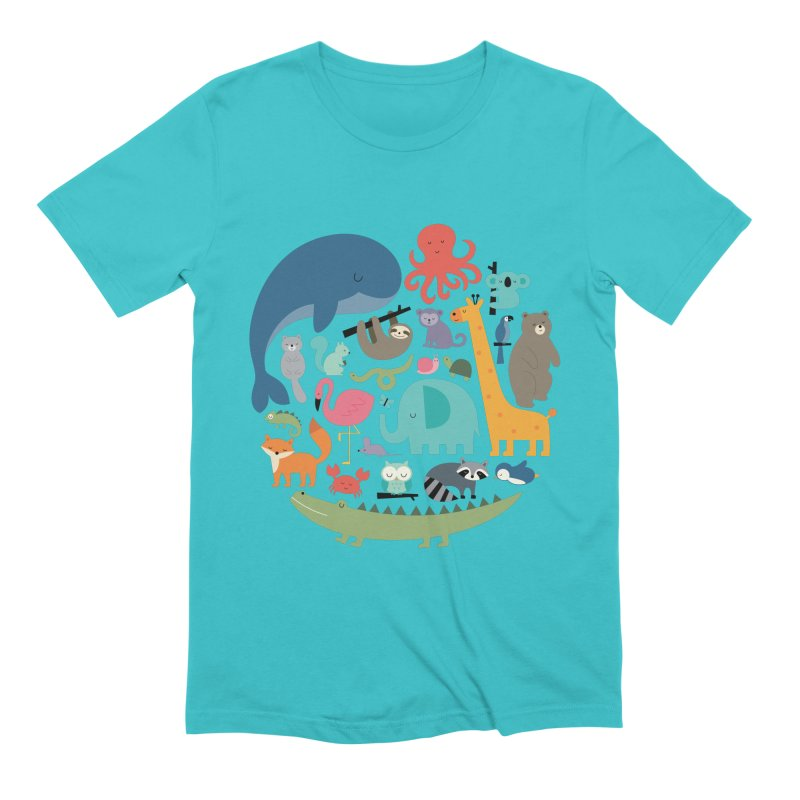 We Are One Men's Extra Soft T-Shirt by andywestface's Artist Shop