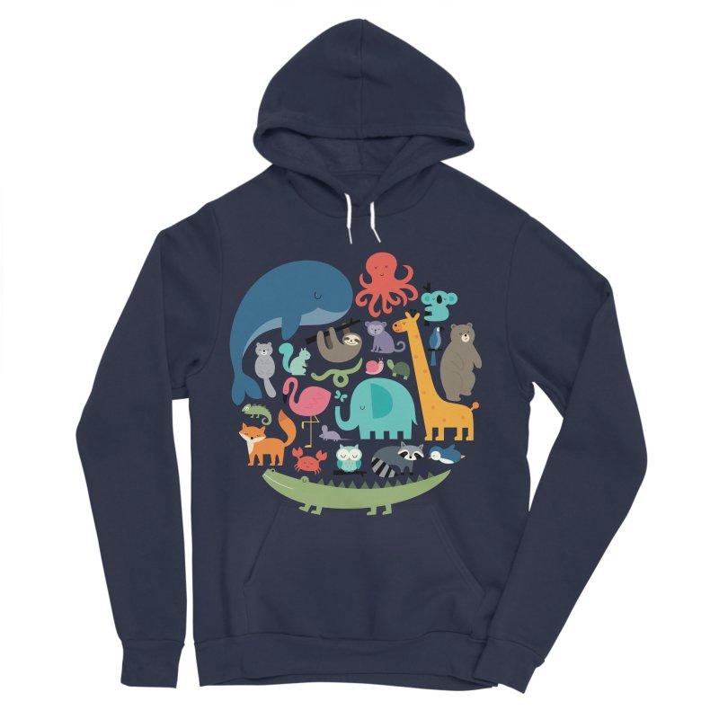 We Are One Men's Sponge Fleece Pullover Hoody by andywestface's Artist Shop