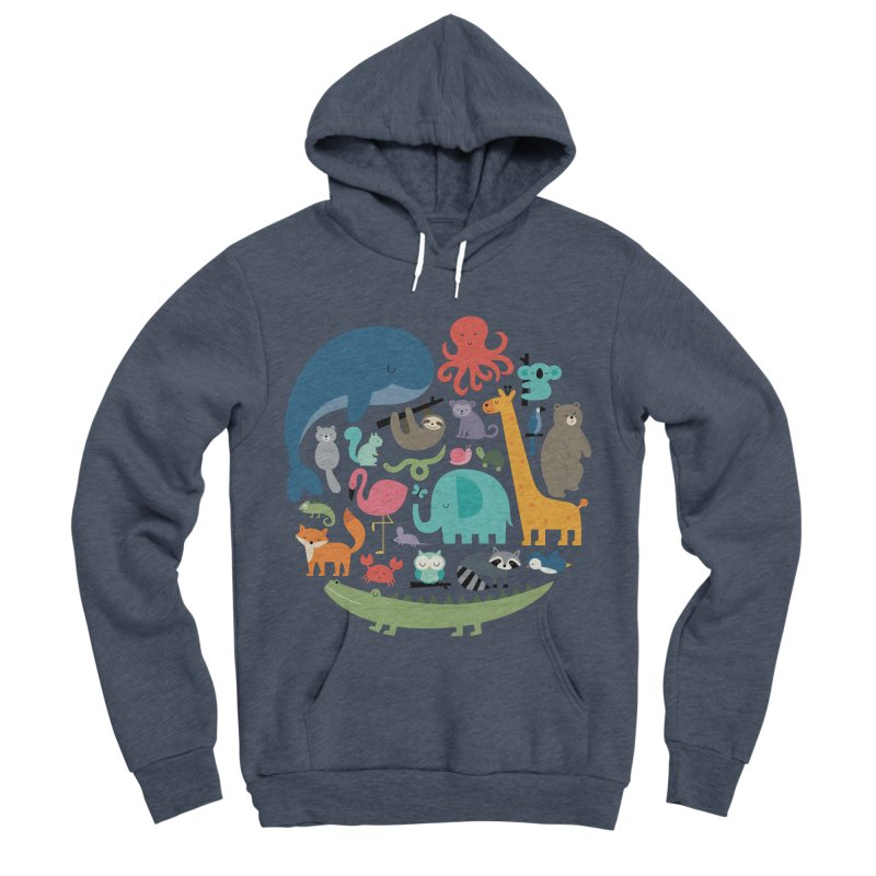 We Are One Women's Sponge Fleece Pullover Hoody by andywestface's Artist Shop