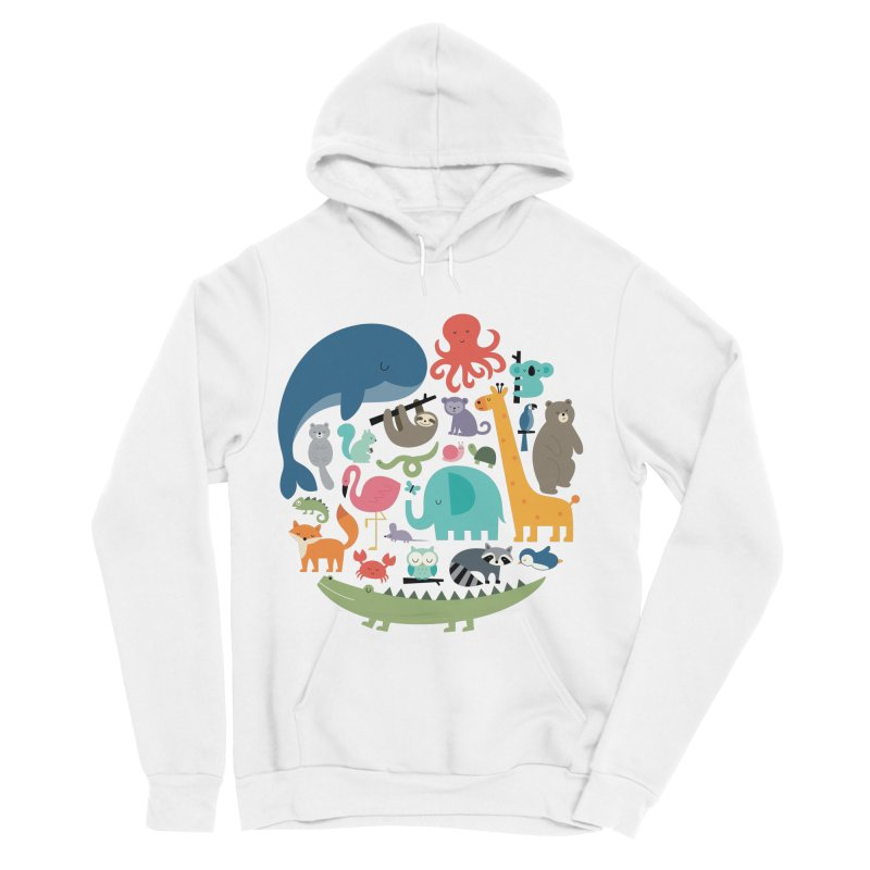 We Are One Men's Sponge Fleece Pullover Hoody by andywestface's Artist Shop