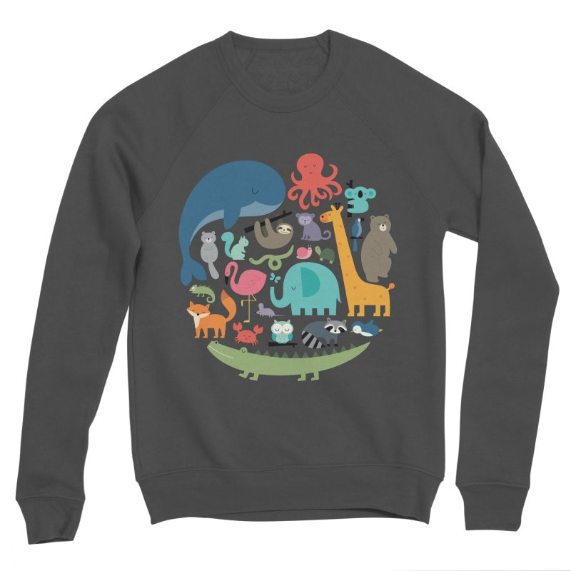 We Are One Men's Sponge Fleece Sweatshirt by andywestface's Artist Shop