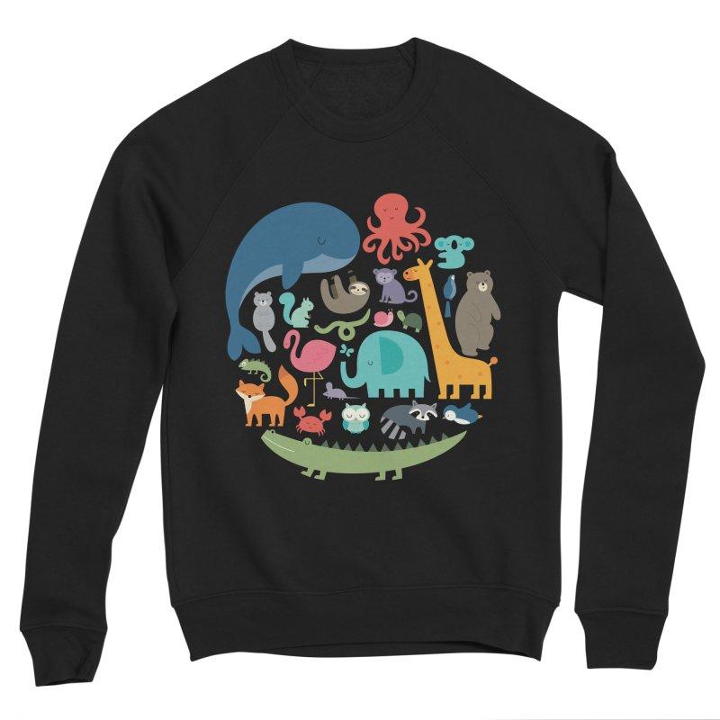 We Are One Women's Sponge Fleece Sweatshirt by andywestface's Artist Shop