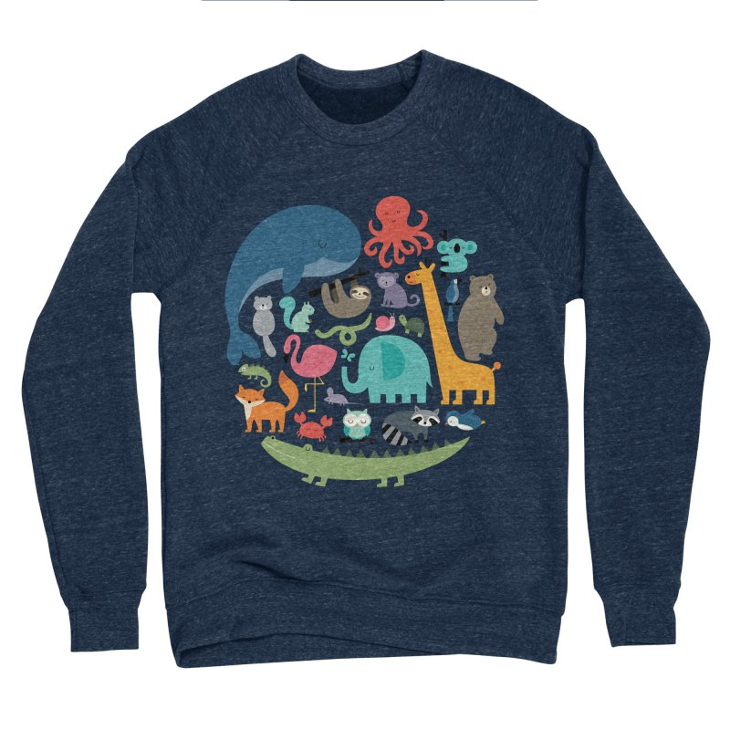We Are One Men's Sponge Fleece Sweatshirt by andywestface's Artist Shop