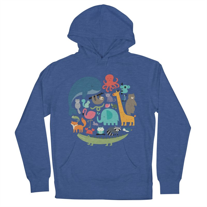 We Are One Women's French Terry Pullover Hoody by andywestface's Artist Shop
