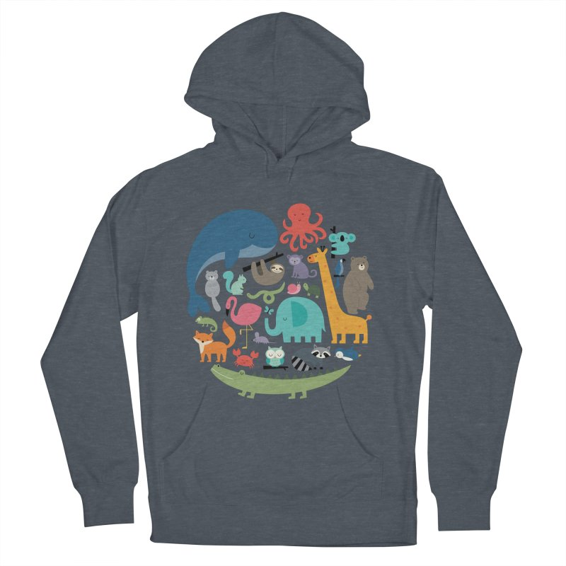 We Are One Men's French Terry Pullover Hoody by andywestface's Artist Shop
