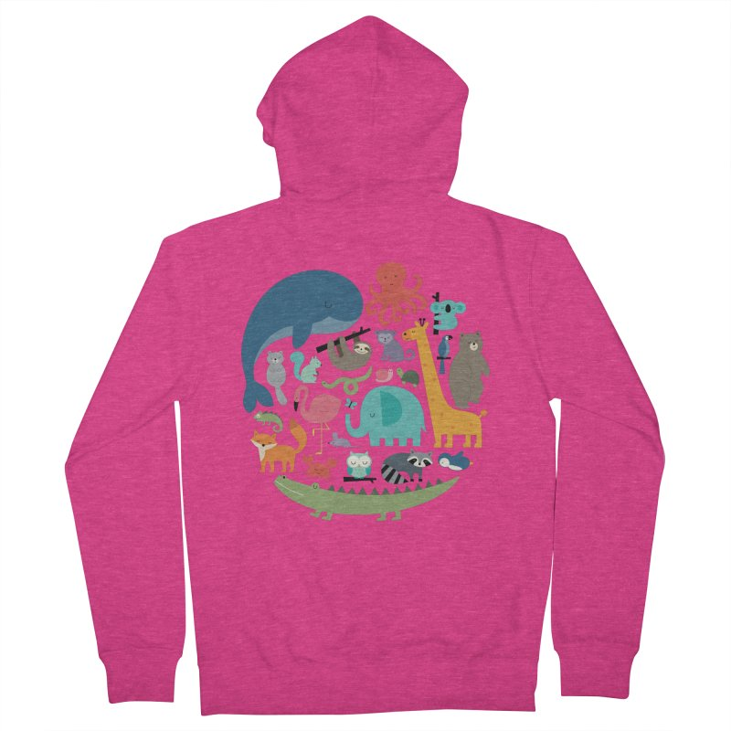 We Are One Women's French Terry Zip-Up Hoody by andywestface's Artist Shop