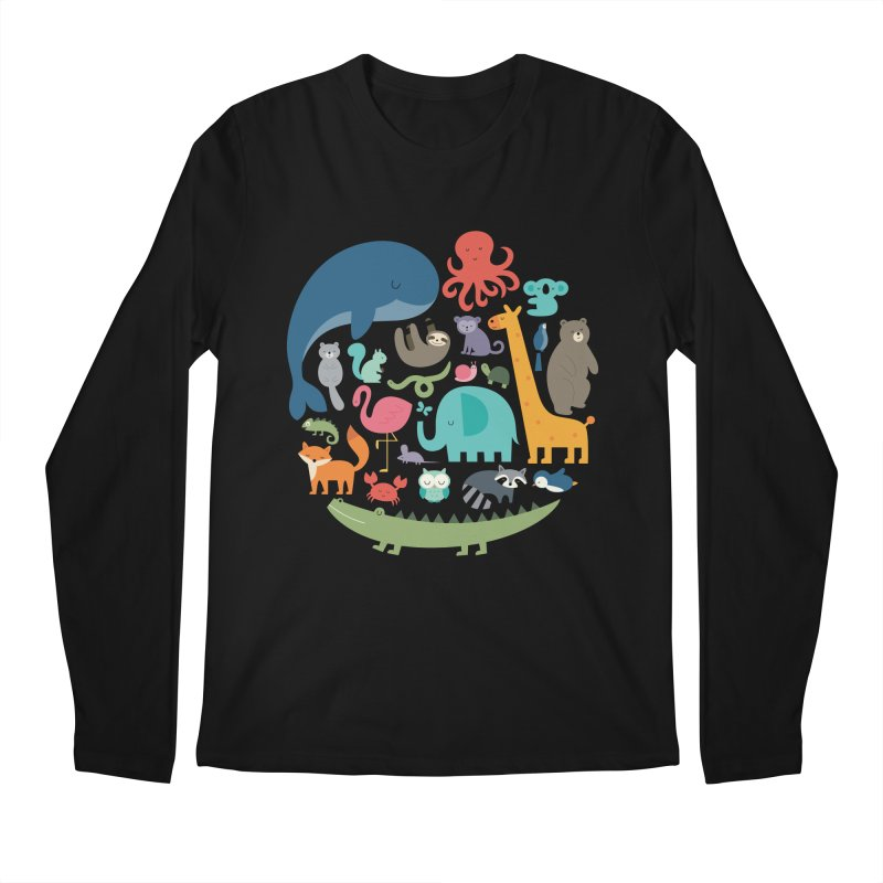 We Are One Men's Regular Longsleeve T-Shirt by andywestface's Artist Shop