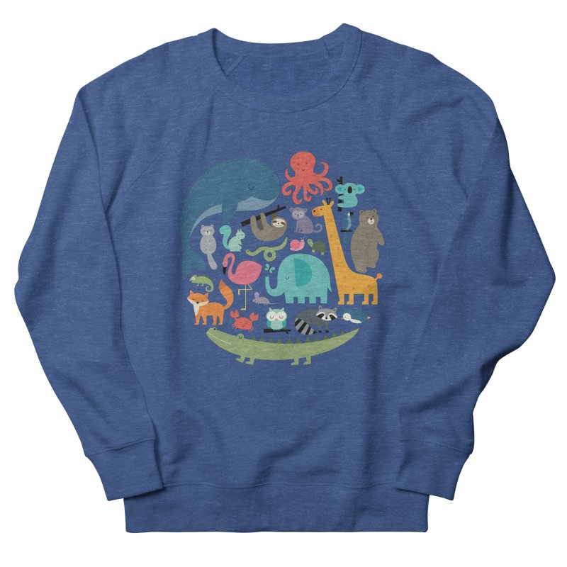 We Are One Men's French Terry Sweatshirt by andywestface's Artist Shop