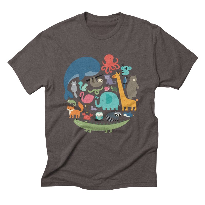 We Are One Men's Triblend T-Shirt by andywestface's Artist Shop
