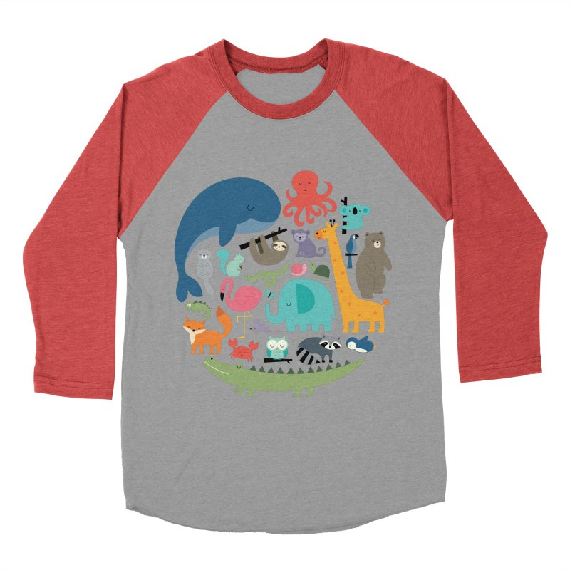 We Are One Women's Baseball Triblend Longsleeve T-Shirt by andywestface's Artist Shop