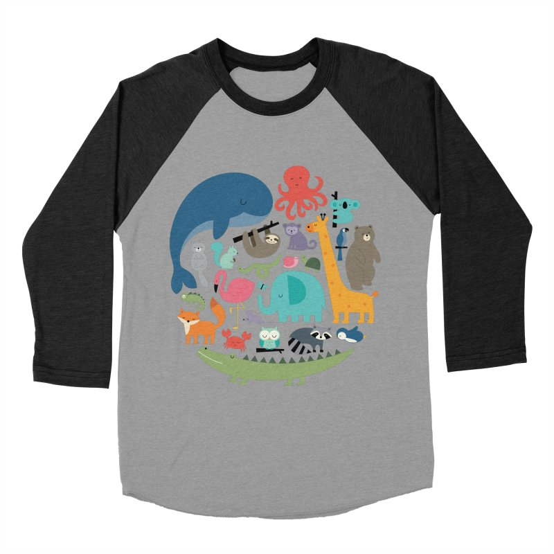 We Are One Men's Baseball Triblend Longsleeve T-Shirt by andywestface's Artist Shop