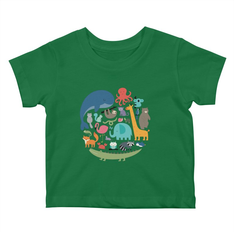 We Are One Kids Baby T-Shirt by andywestface's Artist Shop