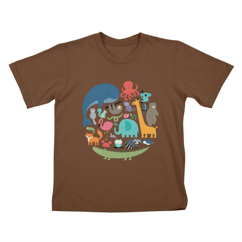 We Are One Kids T-Shirt by andywestface's Artist Shop