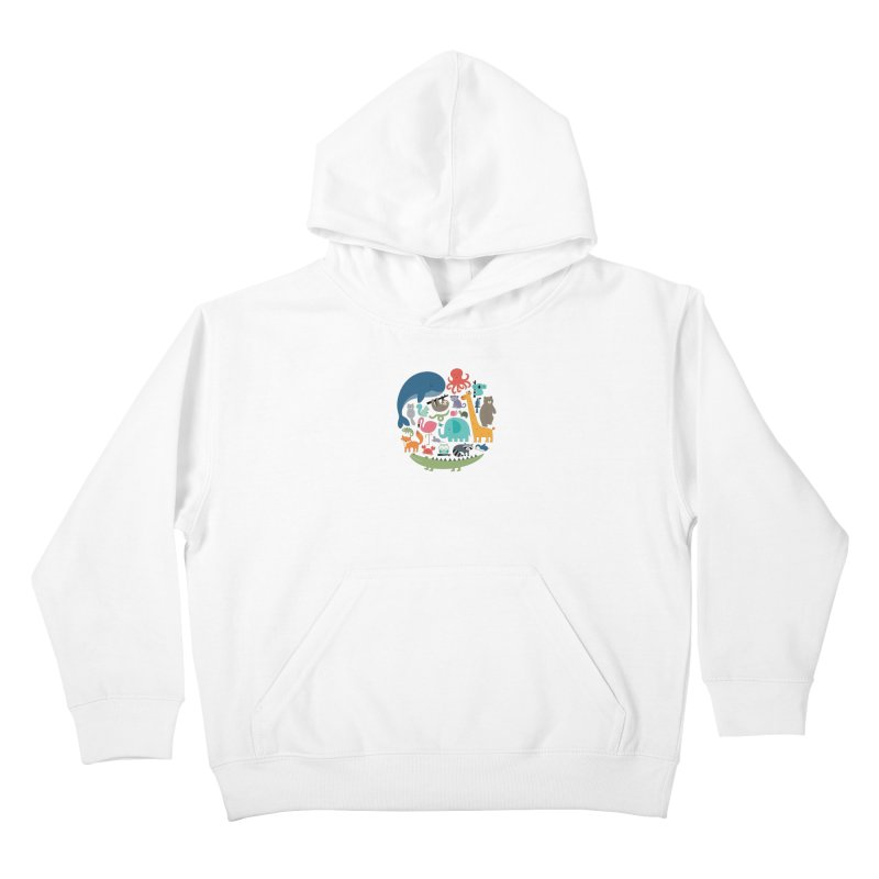 We Are One Kids Pullover Hoody by andywestface's Artist Shop