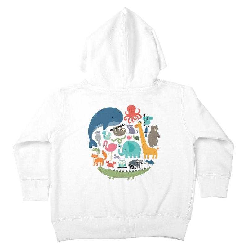 We Are One Kids Toddler Zip-Up Hoody by andywestface's Artist Shop