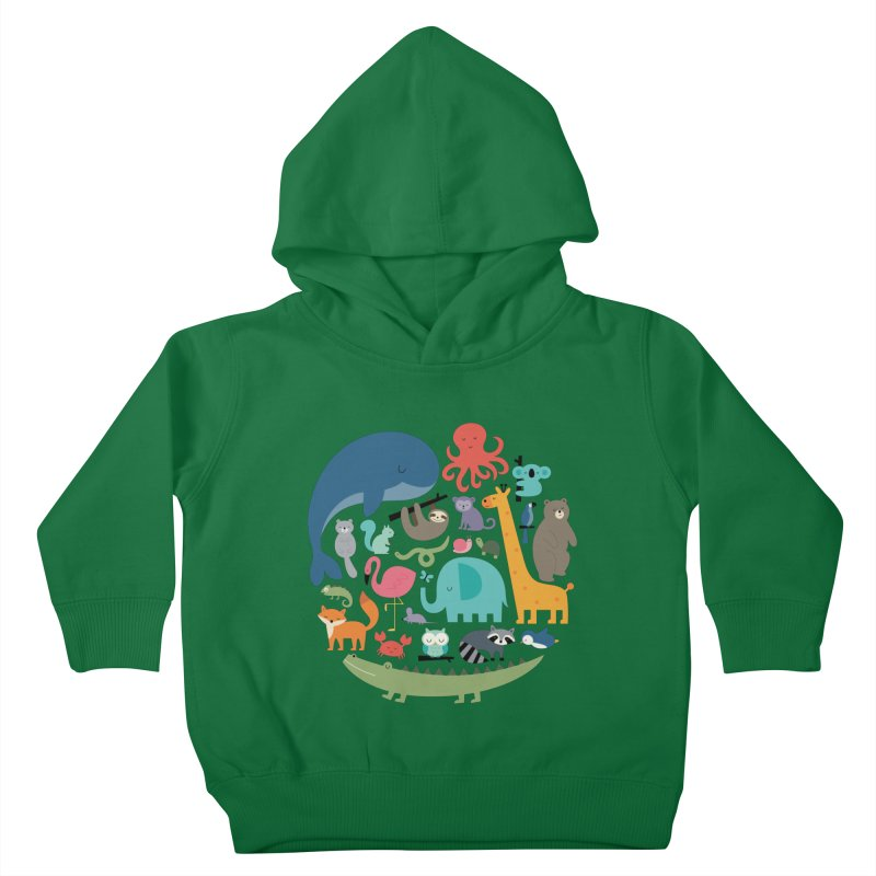 We Are One Kids Toddler Pullover Hoody by andywestface's Artist Shop