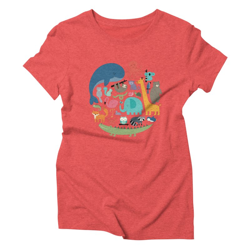 We Are One Women's Triblend T-Shirt by andywestface's Artist Shop