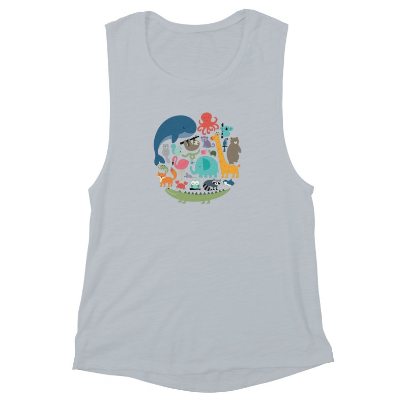 We Are One Women's Muscle Tank by andywestface's Artist Shop