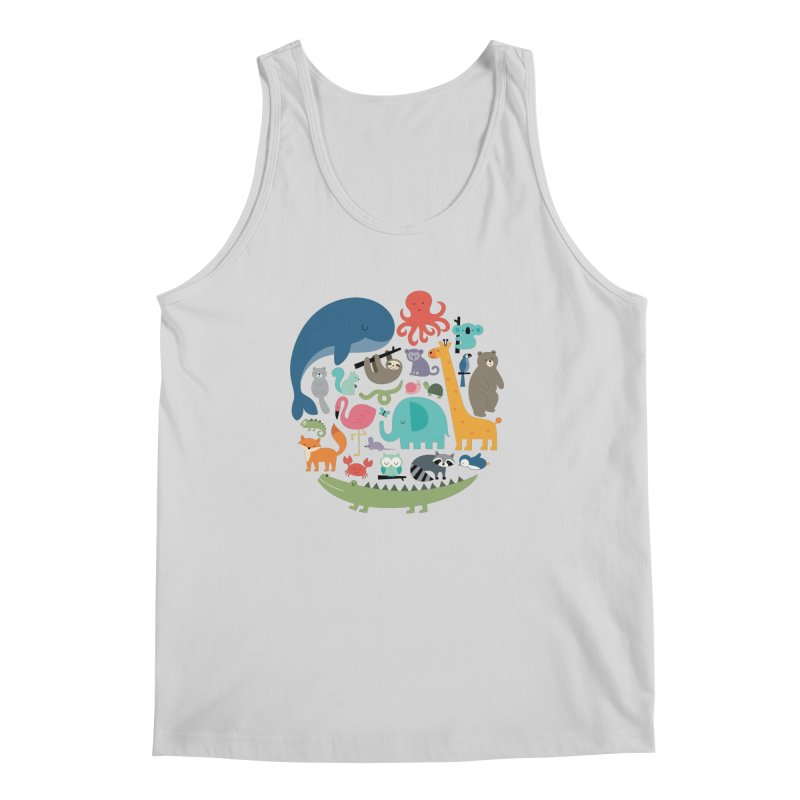 We Are One Men's Regular Tank by andywestface's Artist Shop