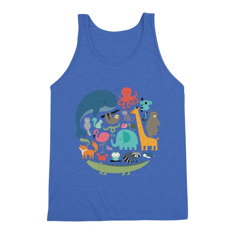 We Are One Men's Triblend Tank by andywestface's Artist Shop