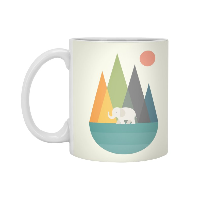 Walk In Peace Accessories Mug by andywestface's Artist Shop
