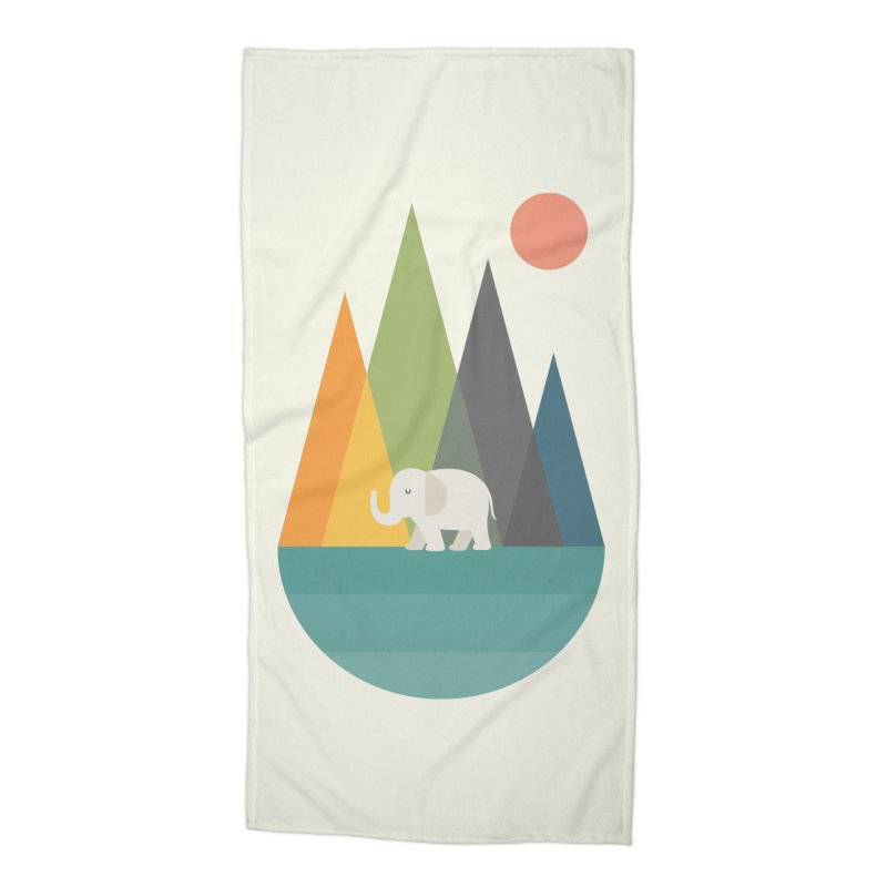 Walk In Peace Accessories Beach Towel by andywestface's Artist Shop