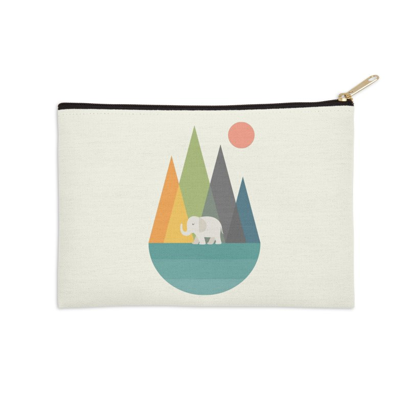 Walk In Peace Accessories Zip Pouch by andywestface's Artist Shop