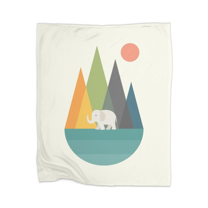 Walk In Peace Home Blanket by andywestface's Artist Shop