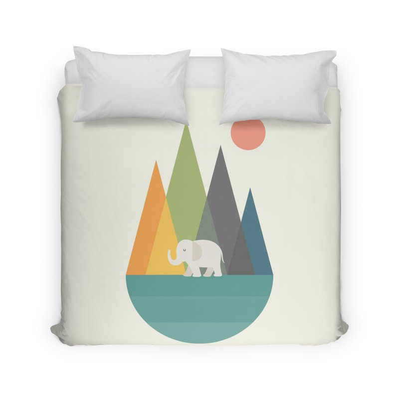 Walk In Peace Home Duvet by andywestface's Artist Shop