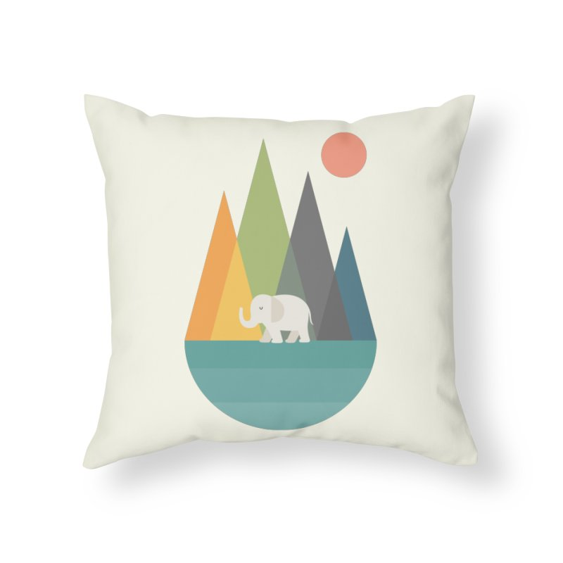 Walk In Peace Home Throw Pillow by andywestface's Artist Shop