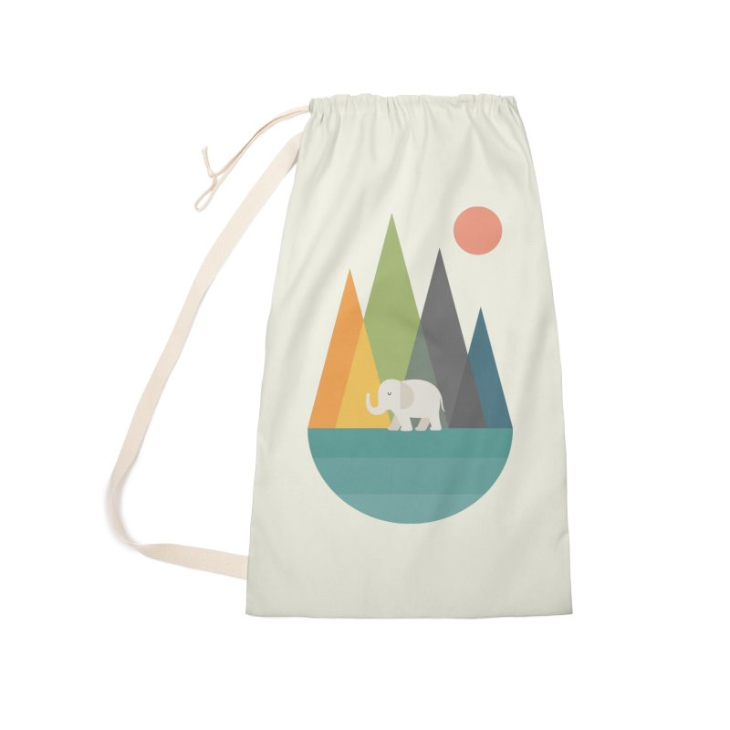 Walk In Peace Accessories Laundry Bag Bag by andywestface's Artist Shop