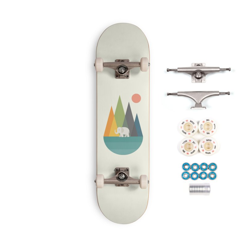 Walk In Peace Accessories Complete - Premium Skateboard by andywestface's Artist Shop