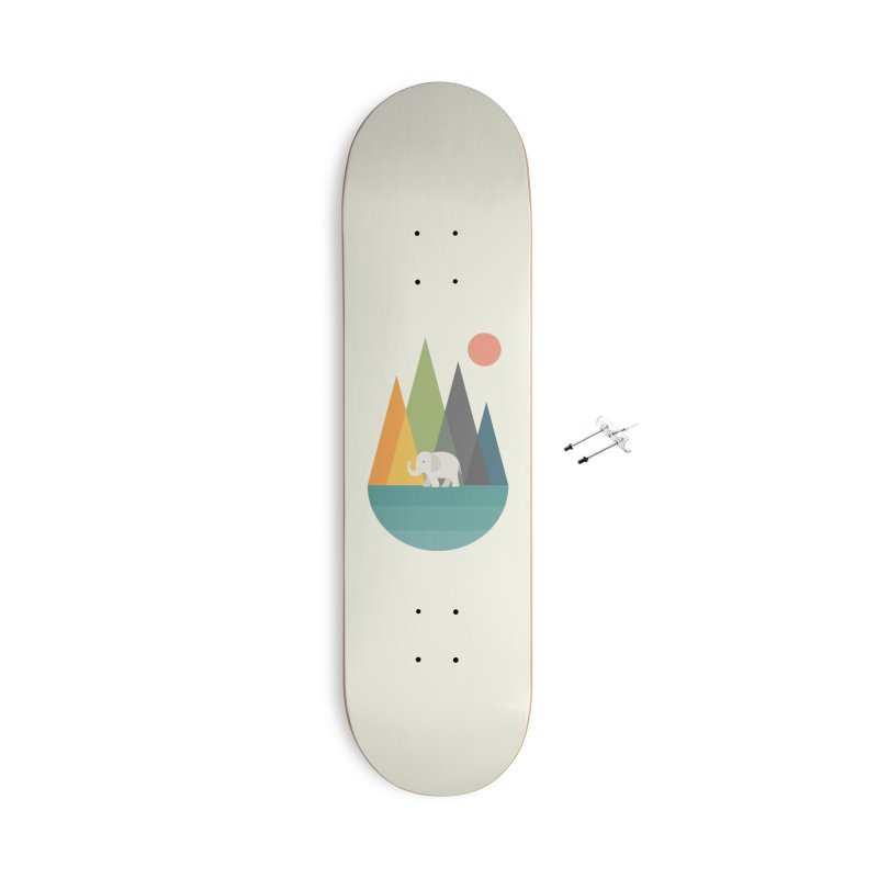 Walk In Peace Accessories With Hanging Hardware Skateboard by andywestface's Artist Shop