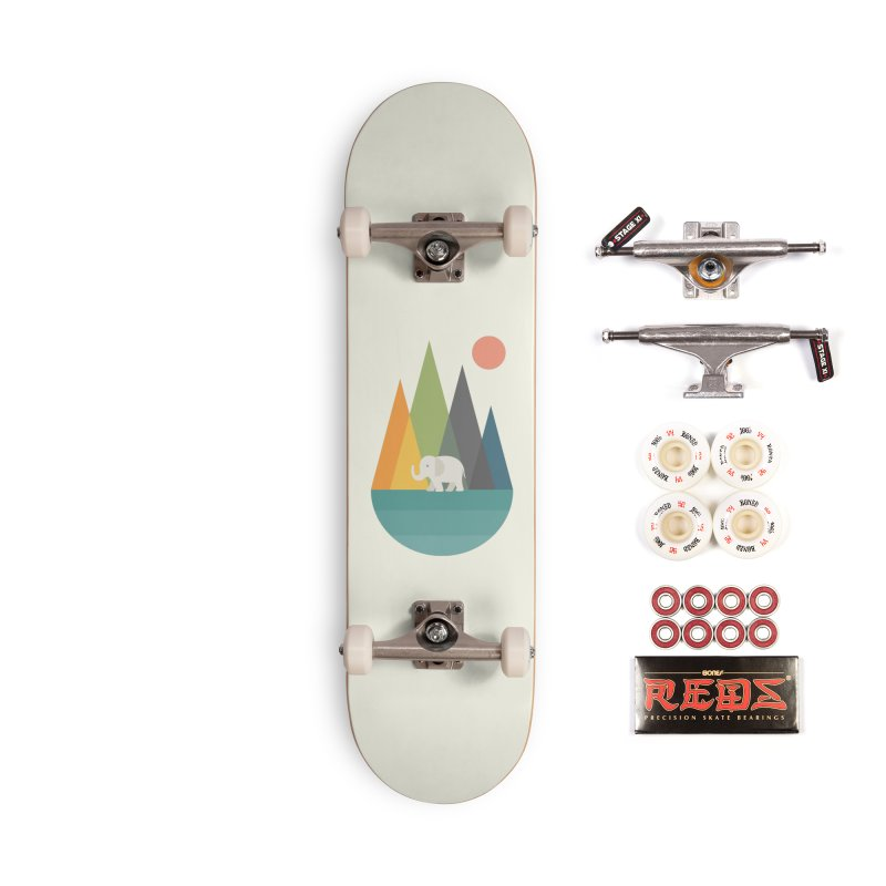 Walk In Peace Accessories Complete - Pro Skateboard by andywestface's Artist Shop