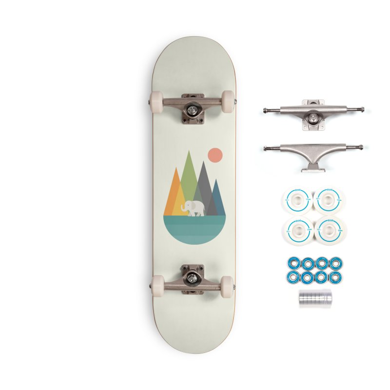 Walk In Peace Accessories Complete - Basic Skateboard by andywestface's Artist Shop
