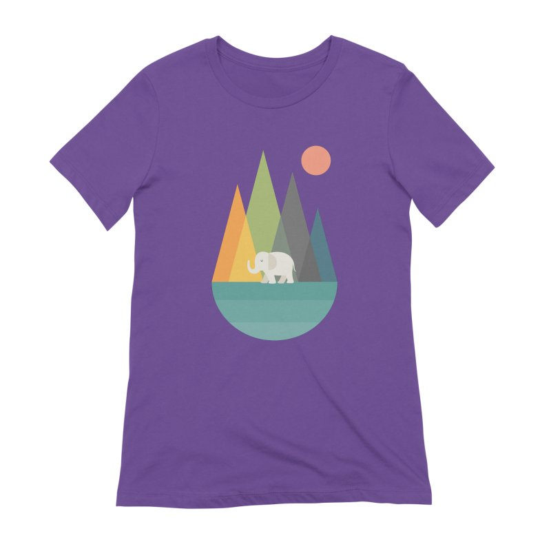 Walk In Peace Women's Extra Soft T-Shirt by andywestface's Artist Shop