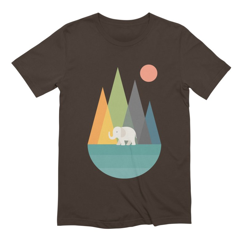 Walk In Peace Men's Extra Soft T-Shirt by andywestface's Artist Shop